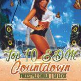 Top 10 EDM Countdown with Freestyle Chulo & DJ Lexx 4-5-16