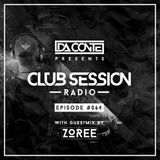 Da Conte   Club Session #64 with Guestmix by Zoree