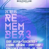 DJ DREAM-MAN BENOIT VINET---DJ STEFANE LIPPÉ--DJ TRIBE,,LIVE @ BEACH CLUB REMEMBER AUGUST 2015