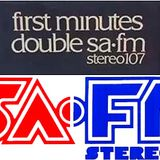 First Minutes of Double SA-FM Stereo 107