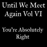 Until We Meet Again Vol 6: You're Absolutely Right
