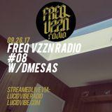 FREQ VZZN RADIO #8 w/DMesas