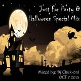 Dj Chak-on! Just For Party 8 Halloween Special Mix