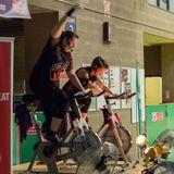 New Milton Health & Leisure  Little BIG Spin team teach 2014