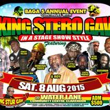 KING STUR GAV @ Water Lane Community Centre, Clarendon, JA 08.08.2015