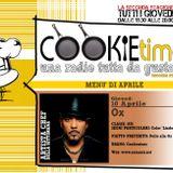 Mattia Garro e il Cookie Time incontrano OX, Artista Chef per un giorno! Cucina su TRS Radio!