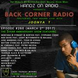 BACK CORNER RADIO: Episode #260 (March 2nd 2017) [5YR Anniversary]