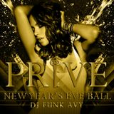 PRIVE LUXURY CLUB 2013 N.Y.E. CD (Compiled & Mixed by Funk Avy)