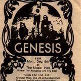 Genesis live at Boston MusicHall December 9th 1974