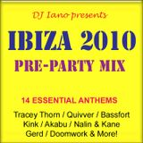 Ibiza 2010: Pre-Party Mix