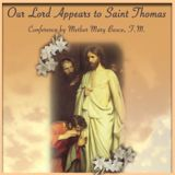 Our Lord Appears to Saint Thomas by Mother Mary Bosco, F.M.