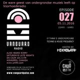 VANGUARD RADIO Episode 027 with TEKNOBRAT - 2016-11-05th CHUO 89.1 FM Ottawa, CANADA
