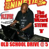 Back To The 90's Pt 2 - The Grand Wizard Stevie 'D' On The Old School Drive At 5 On WYBC 94.3FM 10/5