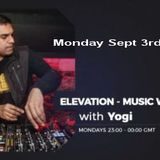 Elevation - Music with Feeling Sept 3rd, 2018 The Ground Radio Show by Yogi (Solid Garage TO)