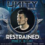 UNITY RADIO Episode #51 (UNITY - HARDCORE DNA Special) Restrained (30-11-2017)