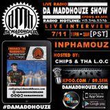 Inphamouz calls into Da Maddhouze on K.P.O.O 89.5 FM