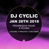 DJ Cyclic january 27th 2018 House and Techno