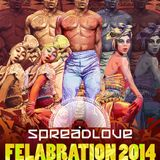 Spread Love Presents Felabration 2014 PROMO Mix