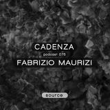 Cadenza Podcast | 075 - Fabrizio Maurizi (Source)