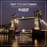 Adam Scavo at Cafe Mambo Ibiza's London Closing Party (07.10.2017)