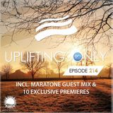 Ori Uplift - Uplifting Only 214 (March 16, 2017) (incl. Maratone Guestmix)