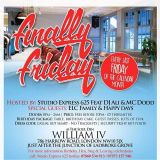 Finally Friday @ The William IV  Live Mix