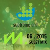 Mquin @ Subtronic End 107.7 The End (06.2015)