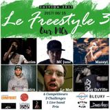 #LEFREESTYLE s2017e03 2017/06/15 // Nazim vs MC June vs Massyl vs Basics vs Le Mef vs Jay DaVille