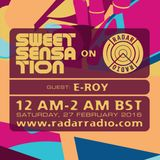 Sweet Sensation with E-Roy 27.02.16