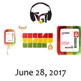 """Reggae Transfusion"" on KGNU Community Radio [06-28-2017]"
