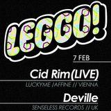 Deville (SENSELESS RECS//UK) - Live @ LEGGO! - 7 Feb 2013 (Set #2)