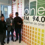 One FM 94.0 - Mitch Matyana and Diksha Ujoodha chat to Luke from the Zombie Walk