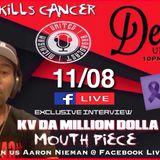 KV da Million Dolla Mouthpiece wit DJ Greenguy on Detroit Unplugged Radio