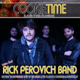 Rick Perovich Band Artista Chef nel Cookie Time con Matt Garro su TRS Radio