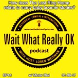 How does The Last Ring Home relate to many baby boomer stories?