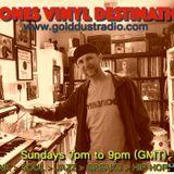 Prone's Vinyl Destination GOLDCAST 11-10-2018 live radio show