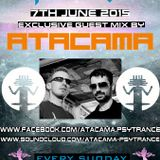 ATACAMA Exclusive guest mix Psy Trance Experience presented by Mazord @Clubvibez Radio