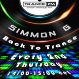 Simmon G - Back To Trance 015