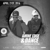 2016.04.21 - Amine Edge & DANCE @ Recess Club - Elevate, Salt Lake City, USA