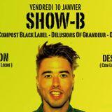 """Part 3/ Show-B, Jon&Dess @ Logo 10/01/14 """"Con Leche"""""""