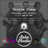 Divine Disco with DJ Greg Belson (24/01/2019)