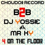 4 ON THE FLOOR MIX  BY DJ Yossie(よっしぃ) & Mr. KY