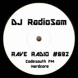 RadioSam presents RAVE RADIO #092. Recorded LIVE on Code South FM 105.6 FM, 21st of November 2018.