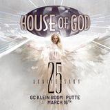 25 Years House of God Set 06 - DJ Tim b2b Kurt b2b Gee