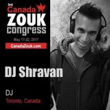 Canada Zouk Congress @ Saturday 1am - DJ Sunder