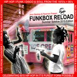 DJ JORUN BOMBAY'S FUNKBOX RELOAD - SUMMER SOLSTICE WEEKEND EDITION 2015 (Co-Hosted by Flexxman)