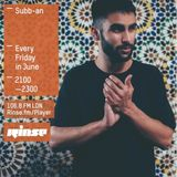 Rinse Fm Show 19th June 2015