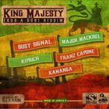 King Majesty Riddim Mix Promo (Stainless Rec.-2014) - Selecta Fazah K.