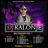 Dj Kalonje USA tour Promo Mixx Vol 1
