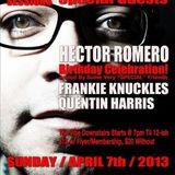 Hector Romero @ 718 Session - Santos Party House (New York,USA) (07-04-2013)